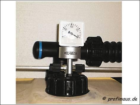 RELI-MESS Nachrüst Ölstandsmesser für Kunststoff Lagertanks